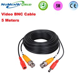 bnc cables Australia - Transmission & Cables Best quality BNC Cable 5Meter 2 in 1 Power supply & BNC Extension Cable for Analog AHD Camera Line CCTV