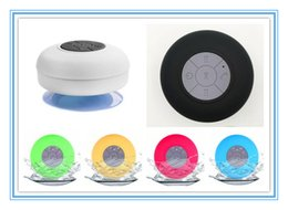 $enCountryForm.capitalKeyWord Australia - Mini Portable Subwoofer Shower Waterproof Wireless Bluetooth Speaker Car Handsfree Receive Call Music Suction Mic For iPhone Samsung DHL