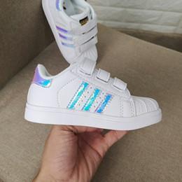 $enCountryForm.capitalKeyWord NZ - New Skateboarding Shoes baby Casual Shoes Superstar Female Sneakers kids Zapatillas Deportivas Mujer Lovers Sapatos Femininos kids shoe