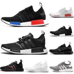 $enCountryForm.capitalKeyWord Australia - 2019 Luxury Wholesale R1 Shoes Nmd Japan red Thunder Bred Tri-Color Green Camo Runner R1 PK Low Men's & Women's shoes Outdoor Sport Shoes