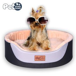 $enCountryForm.capitalKeyWord Australia - Luxury Kennel Dog House Warm Pet Dog Bed Mat Sofa Cat Sleeping Bed for Puppy Large Labrador Husky Satsuma Small Teddy