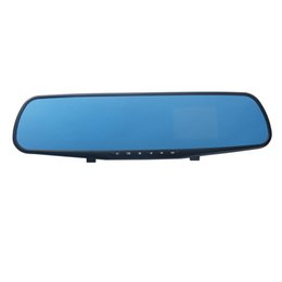 Dvr View NZ - 2.8inch TFT L604 Antiglare Rear View Mirror Tachograph Blue Glass Night Vision Vehicle Data Recorder car dvr