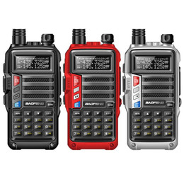Portable cb online shopping - 2019 BaoFeng UV S9 Powerful Walkie Talkie CB Radio Transceiver W km Long Range Portable Radio for hunt forest city upgrade r