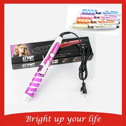 $enCountryForm.capitalKeyWord Australia - new arrival Pro Electric Magic Hair Iron Styling Tool Hair Curler Roller Pro Spiral Curling Iron Wand Curl Styler Hair Curling Irons