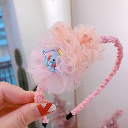 $enCountryForm.capitalKeyWord Canada - New Lace flower baby headbands princess girls headband designer headband Boutique designer headbands kids Hair Sticks hair accessories A6750