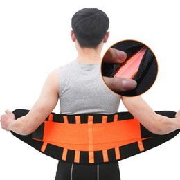$enCountryForm.capitalKeyWord Australia - Men And Women Waist Trimmer Belt Lumbar Back Support Gym Fitness Weightlifting Belt Adjustable Abdominal Elastic Waist Trainer