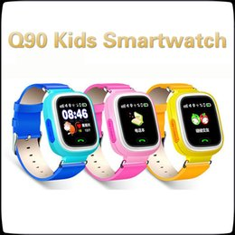 $enCountryForm.capitalKeyWord Australia - Smartwatch Q90 Bluetooth Tracking Touch Screen With WiFi LBS for iPhone IOS Android SOS Call Anti Lost SmartPhone Children smart watch MQ10