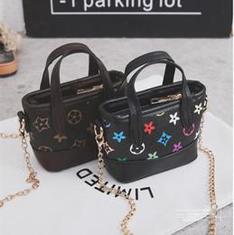 3665fa23dff Kids Designer Handbags 2019 Fashion Korean Girls Mini Princess Purses  Classic Old Floral Printed Chain Shoulder Bags Children Messenger Bags