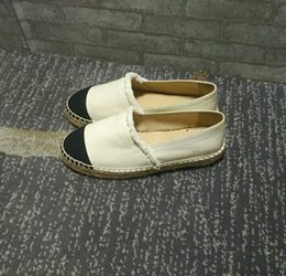 $enCountryForm.capitalKeyWord Australia - Summer breathable slip minimalist Thick Soles Fashion Designer Brand Flats Canvas Espadrilles Casual Ladies Loafers Flat Shoes Woman Plus Si