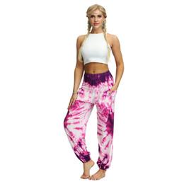 $enCountryForm.capitalKeyWord UK - Men Women Casual Loose Hippy Yoga Trousers Baggy Boho Floral Print Aladdin Pants Womens Leggings Gym Exercise Work Out Pants