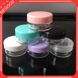 $enCountryForm.capitalKeyWord Australia - 10g Empty Small Plastic Jars Bottles Cosmetic Jar Pot Box Cream Cosmetic Containers Refillable Compacts Packing Boxes CCA11248 500pcs