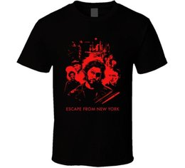 Lowest Price T Shirt Australia - Escape From New York Carpenter Russell 80s Movie Fan Men T-Shirt Lowest Price 100 % Cotton