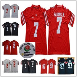 Discount ohio state football jersey xxxl - 2019 Rose Bowl jerseys NCAA Ohio  State Buckeyes   7d693be9f