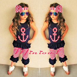 $enCountryForm.capitalKeyWord Australia - 1pcs Baby Girl Clothes Set Kids Outfit Boutique Luxury Clothes Suit Black Shirt Shorts Pants Headband Toddler Summer Tracksuit Playsuit