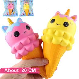 $enCountryForm.capitalKeyWord Australia - 1Pcs Kawaii Cute Rainbow Horse Double-Head Bear Star Ice Cream Phone Straps Squeeze Slow Rising Jumbo Charms Squishy Toys Gift
