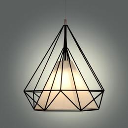 $enCountryForm.capitalKeyWord Australia - birdcage chandeliers Scandinavian modern minimalist art pyramid iron chandelier creative restaurant lights