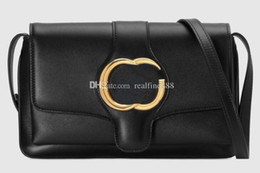 Gusset Bags Australia - 3a 550129 25cm Arli Small Leather Shoulder Bag,2 Gussets,with Dust Bag Box,dhl Free Shipping