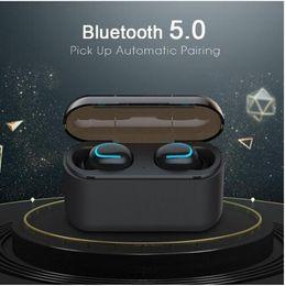 $enCountryForm.capitalKeyWord Australia - HD Bluetooth 5.0 Earphones TWS Wireless Headphones Blutooth Earphone Handsfree Headphone Sports Earbuds Gaming Headset Phone PK HBQ