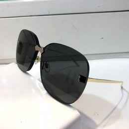 $enCountryForm.capitalKeyWord Australia - Luxury 0355 Designer Sunglasses For Men And Women Fashion Popular Special UV Protection Lens Top Quality Frameless Come With Case