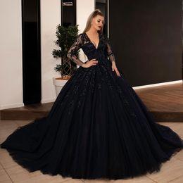 f712d3fae579 Vestido Largo De Encaje Negro Desnudo Online | Vestido De Fiesta ...