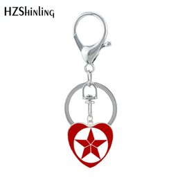 $enCountryForm.capitalKeyWord UK - Free shipping jewelry Final Superhero Memory Classic Super Heros Heart Keychain Love You Three Thousands Times Keyholder