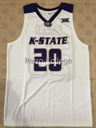 e64e937a4  20 Xavier Sneed Kansas State Wildcats College Basketball Jersey Black Embroidery  Stitched Customize any size and name XS-6XL Vest Jerseys