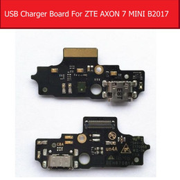 $enCountryForm.capitalKeyWord Australia - USB Charging Port Board For ZTE AXON 7 MINI B2017G Charger Dock Connector Board Flex Cable Replacement Parts