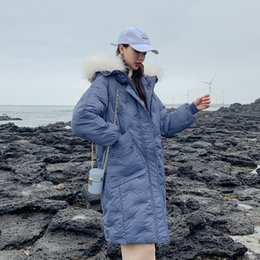 $enCountryForm.capitalKeyWord Australia - 2019 Cotton Padded Warm Thicken Ladies Long Coats Big Fur Collar Parka Womens Jackets New Arrival Fashion Women Winter Jacket