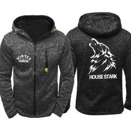 $enCountryForm.capitalKeyWord NZ - Spring Autumn Game of Thrones Print Men Sports Casual Wear Hoodies Zipper Fashion Trend Jacquard Cardigan Jacket Coat Hip Hop Tracksuits