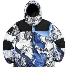 Wholesale satin suspenders online – The Mountain Baltoro Winter Jacket North Blue White Down Jacket Men Women Winter Feather Overcoat Jacket Face Warm Coat