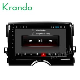 "stereo matrix Australia - Krando Android 8.1 10.1"" IPS Full touch big screen car Multimedia player for TOYOTA REZI   MARK 2011+ audio player gps BT wifi car dvd"
