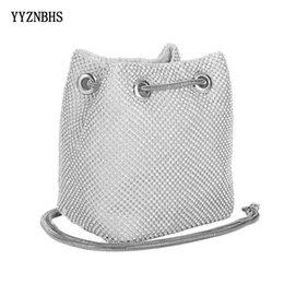 $enCountryForm.capitalKeyWord Australia - Clutch Evening Bag Luxury Women Bucket Bag Shoulder Handbags Diamond Bags Ladies Wedding Party Pouch Small Bags Bolsa Feminina