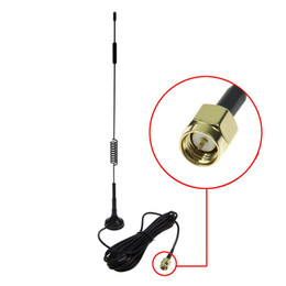 Wholesale SMA 7DBi High Gain 4G LTE CPRS GSM 2.4G WCDMA 3G Antenna With Magnetic Stand Base