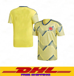 57539eae432 DHL free shipping NEW 2019 Colombia jersey 2020 Colombia home soccer jerseys  19 20 football shirt Size can be mixed batch