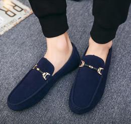 8356fb45895 Мужская повседневная обувь Slip On Comfort Мужская мягкая замшевая  бездельник Легкая обувь для ходьбы Мокасины Дышащие лоферы