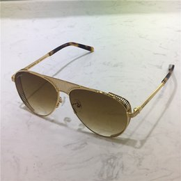 19628f09e6 New fashion MAYBACH sunglasses 1050 frame hollow plate frame avant-garde  design style top quality uv protection eyewear with box
