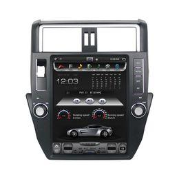"Touch Screen Car Stereo Gps Bluetooth Australia - Vertical Screen 9.7"" Quad core Car DVD Android 7.1 Car Stereo Radio GPS for Toyota Prado 150 LC150 2011 2012 2013 Bluetooth WIFI"