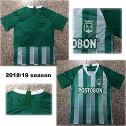 Top thai quality 18 19 Soccer Jersey Atletico Nacional Medellin Maillot de  foot 2018 Ibarbo Diego Arias Cardenas Luis Carlos Football shirts 5f8231afa