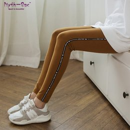 Cotton Thin Woman Trouser Australia - Women Yoga Pant Solid Sport Leggings Slim Cotton Capris Elastic Striped Running Trouser Skinny Dance Tights High Waist Thin Pant #969966