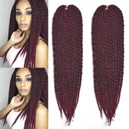 $enCountryForm.capitalKeyWord Australia - Hot Selling! 3Pcs Lot Ombre 3D Cubic Twist Crochet Hair Extensions Kanekalon Fiber Synthetic Braiding Hair Colors Grey Crochet Braids