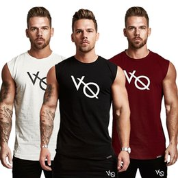 $enCountryForm.capitalKeyWord NZ - Hot Sale Mens Compression Tank Tops Men Breathable T-shirts Suits Men's Cotton Fitness Gyms Suits Men Gyms Compression Sets