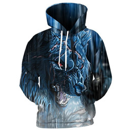 $enCountryForm.capitalKeyWord UK - Pop 2019 Cloudstyle Brand Hoodie Men Cool Coats 3d Monster Wolf Tiger Leopard Printed Tracksuit Winter Fall Outerwear Loose Pullover Tops