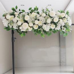 $enCountryForm.capitalKeyWord UK - Upscale Artificial Silk Peonies Rose Flower Row Arrangement Supplies for Wedding Arch Backdrop Centerpieces DIY Supplies