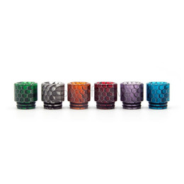 drip tip goon UK - 810 Drip Tips Colorful Luminous Mouthpiece Cobra Resin Wide Bore Drip Tip Fit Goon 528 Kennedy 24 AV Battle Apocalypse Pyro V8 V12