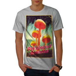 e8c00021f Mushroom T Shirts UK - Wellcoda Pixelated Dreams Mens T-shirt, Mushroom  Graphic Design