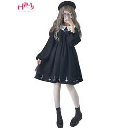 $enCountryForm.capitalKeyWord Australia - Harajuku Street Fashion Cross Cosplay Female Dress Japanese Summer Gothic Kawaii Style Star Tulle Dress Lolita Cute Girl Dresses Y19052901