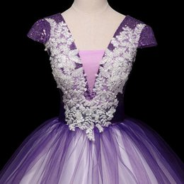 belle cosplay dress Canada - luxury purple sequined embroidery fairy long dress gown opera stage medieval dress Renaissance cosplay Victoria Antoinette Belle
