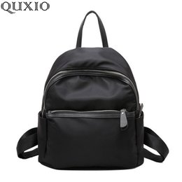 high quality backpack brands Australia - 2018 New Women Backpacks Vintage South Korea Brand Design Bag Travel Casual Female Nylon High Quality Small Rucksack Zzl188 Y19051405