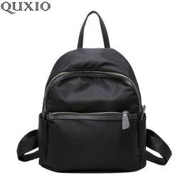 $enCountryForm.capitalKeyWord Australia - 2018 New Women Backpacks Vintage South Korea Brand Design Bag Travel Casual Female Nylon High Quality Small Rucksack Zzl188 Y19051405