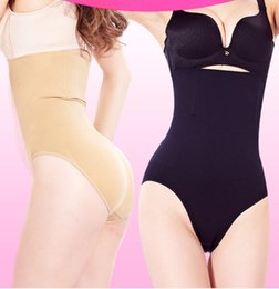 Großhandel Damen Body Spanx Hose hohe Taille postpartale nahtlose Taille Bauch Hose Bauch Hose ohne Spur Magen Lift Gesäß Kunststoff Körper